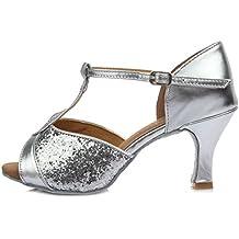 HIPPOSEUS Zapatos de Baile Latinos estándar de Mujer Modelo 259 f87cce9d7f7