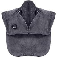 HEALIFTY Soporte para el hombro eléctrico Bracket para el hombro Masaje Correa Wrap Rotator Cuff para la recuperación de alivio muscular con USB (gris oscuro)