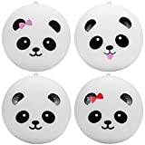 Squishy Panda Toy, Chickwin 1 pcs 3.9 Inch Kawaii Panda Slow Rising Stress Relief Toy Cell Phone Strap Gift