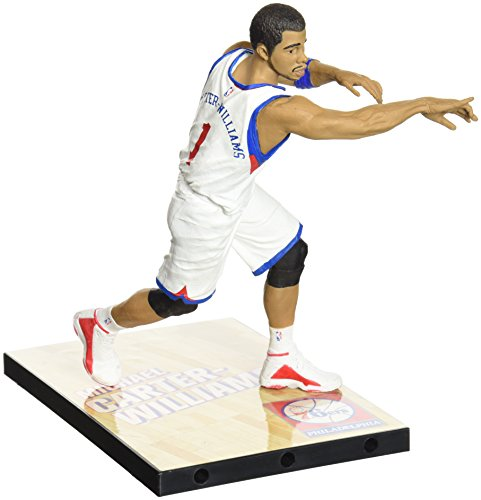 McFarlane Toys NBA Series 25 Michael carter-williams Action Figur (Rare Home Trikot)
