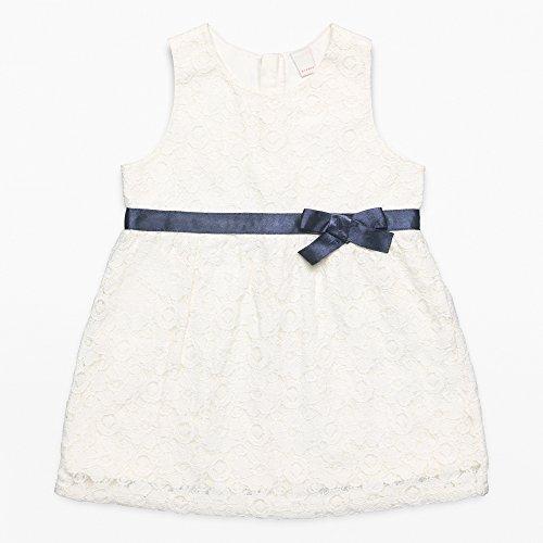 ESPRIT KIDS Baby-Mädchen RL3003112 Kleid, Weiß (Off White 110), 86