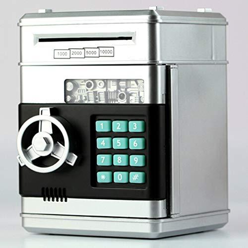 FDBF Kids Cartoon Electronic Money Bank Mini ATM Password Coins Money Savings Box -