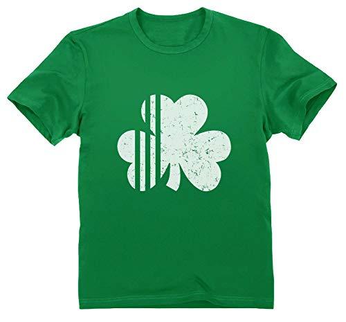 Femmes Filles au-dessus du genou Vert Chaussettes Shamrock Irlandais Celtique Fashion Farfadet