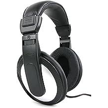 DURAGADGET Auriculares De Diadema En Negro Y Blanco Para Teclado Casio CTK3200 / 781071 SA-76 / CTK-1200/ SA-47H7 / CTK2400 / Yamaha PSR-E353 / PSR-E443 - Alta Calidad