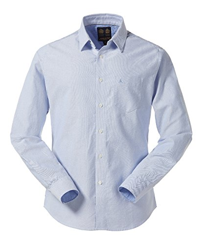 Musto Aiden Oxford Shirt-Taille XL Bleu Pale