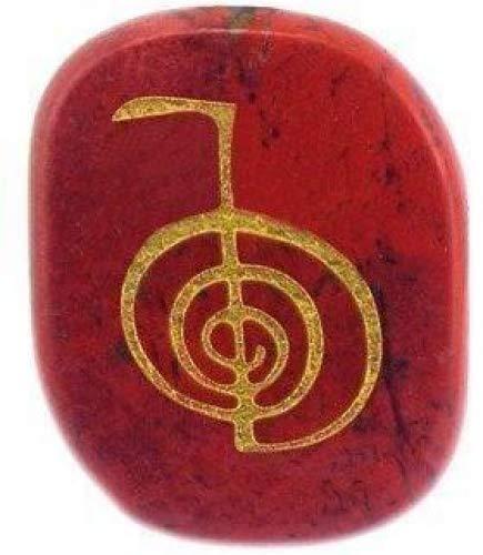 philna12Neuheit Heilung Kristalle Gravur rot Jasper gemestone Palm Steine
