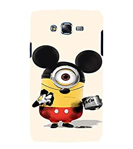 printtech Minions Mickey Mouse Back Case Cover for Samsung Galaxy J2 / Samsung Galaxy J2 J200F
