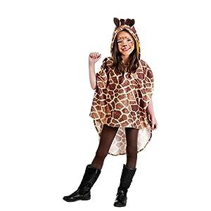 Limit - Disfraz poncho jirafa infantil, talla 3, 5-7 años