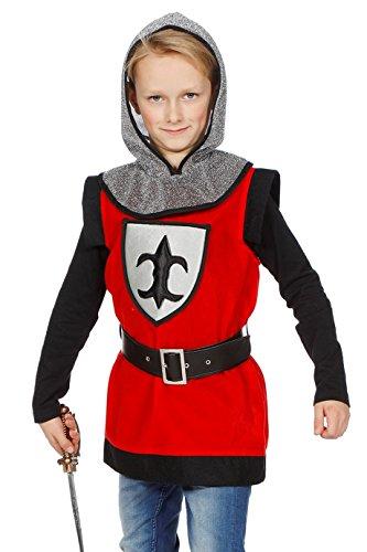 ter Kinder Rot mit Kapuze 140 ()