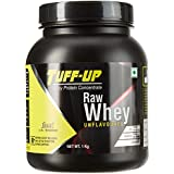 Tuff Up Raw Whey Protein Concentrate 80% (Unflavoured – 1 kg/2.2 lb)