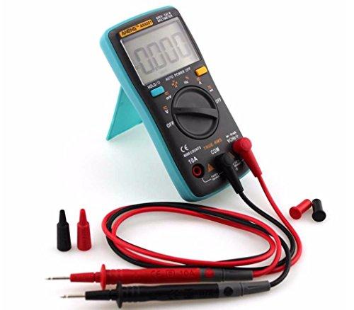 Hycy Professionelle und Praktische AN8001 Digital-Multimeter 6000 Counts Hintergrundbeleuchtung AC/DC Amperemeter Voltmeter Ohm Tragbare Meter
