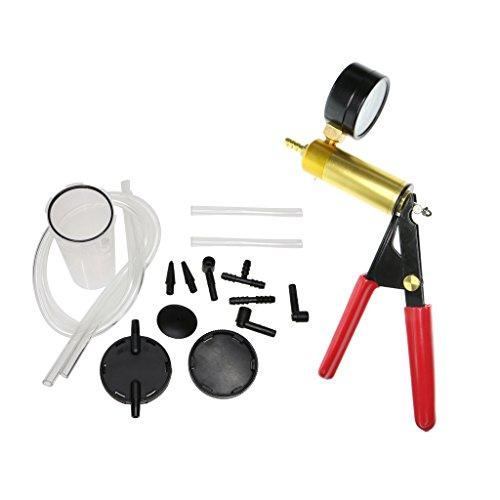 Preisvergleich Produktbild B Blesiya Bremse tragbar Handheld Vakuumtester Vakuumpumpe Bremsenentlüfter Vakuumtester Bremsenentlüftung