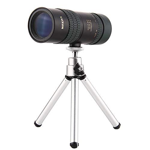 MA87 8-24X30 Einstellbare Zoom Monokular Teleskop Objektiv Telefon Kamera Objektiv Stativ Kit (Scout Spielzeug Telefon)