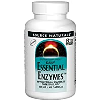 Source Naturals Essential Enzymes Vegicaps 60 vegetarian capsules preisvergleich bei billige-tabletten.eu