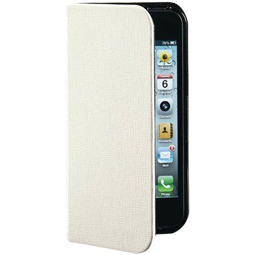Verbatim Pocket Folio Case für Apple iPhone 5 Vanilla White -