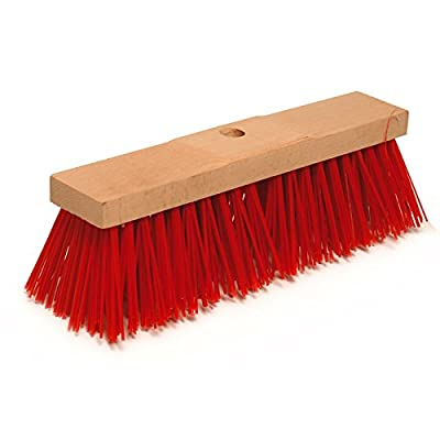 EiFi Straßenbesen Elaston, Rot, 40 cm