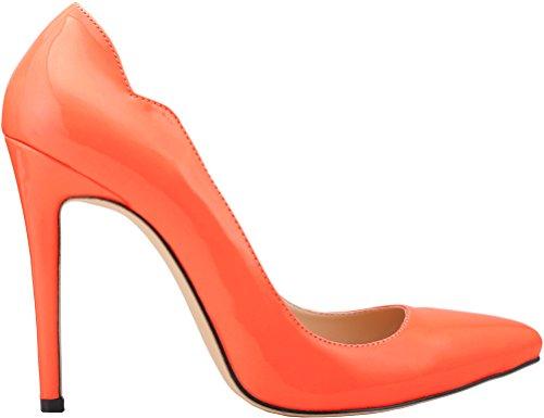 CFP , Damen Plateau , orange - Orange - Größe: 36