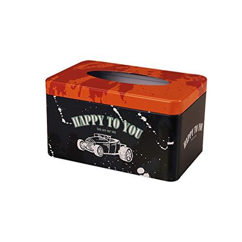 YIYUE Kosmetische Einfachen Dreidimensionalen Gewebe Boxen Im Wohnzimmer Restaurant Cartoon Papier-Box Bügeleisen Kosmetik 22.