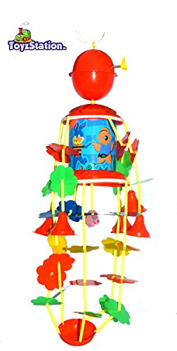 Toyzstation Musical Merry Go Round Toy (Joomer) with Soothing Sound for Kids, Multi Color  available at amazon for Rs.299
