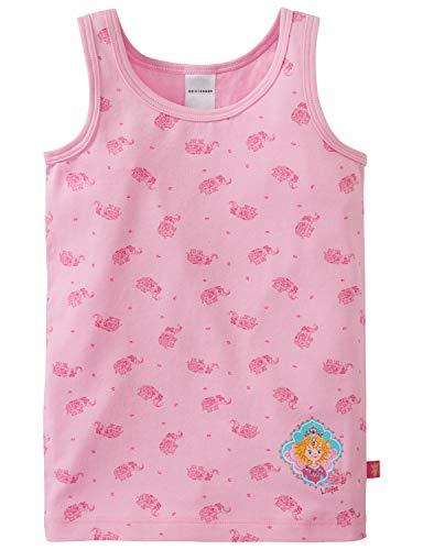 Schiesser Mädchen Prinzessin Lillifee Unterhemd, Rot (Rosa 503), Herstellergröße: 104