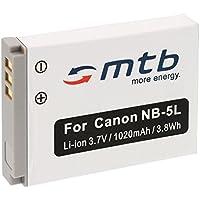 Batería NB-5L para Canon PowerShot SX200 IS, SX210 IS, SX220 HS, SX230 HS .... (ver descripción)