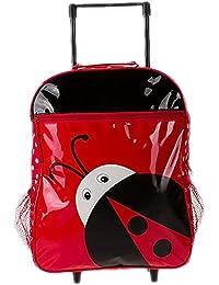 Preisvergleich für Sanyouletoo Cartoon Männer und Frauen Baby Schultertasche Gepäck Kinder Abnehmbare Trolley Grundschule Tier Tasche...
