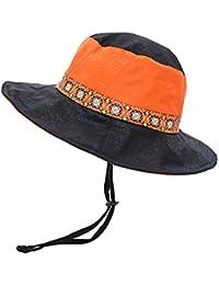 Gysad Algodón Gorro de Pescador Hombre Sombra Gorro de Pescador  Transpirable Sombrero de Pescador Deportes al 224899260a8