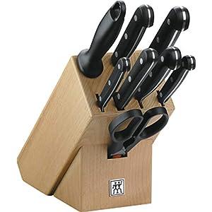 Zwilling 31665-000-0 Twin Gourmet Messerblock, Holz, 9-teilig