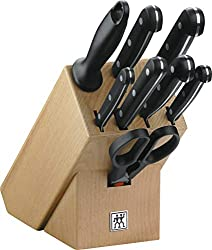 Zwilling 31665-000-0 Twin Gourmet Messerblock, Holz, 9-teilig
