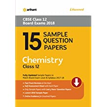 15 Sample Question Papers Chemistry for Class 12 CBSE