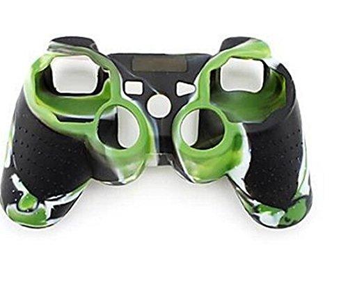 Silikon-Schutzhülle für Sony Playstation PS3 Fernbedienung, sehr griffig grün