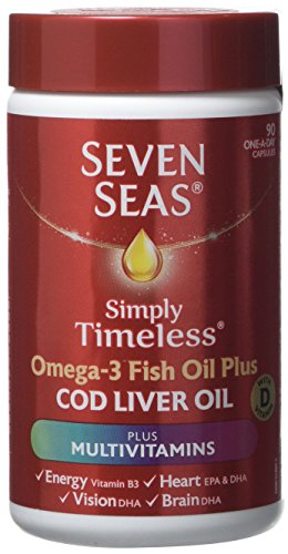 Seven Seas Omega-3 Fish Oil Plus Cod Liver Oil Plus Multivitamin 90 Capsules.118 gm Test