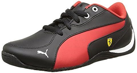 Puma Drift Cat 5 L Sf, Baskets mode garçon - Noir (Black/Rosso Corsa), 31 EU (12 UK)