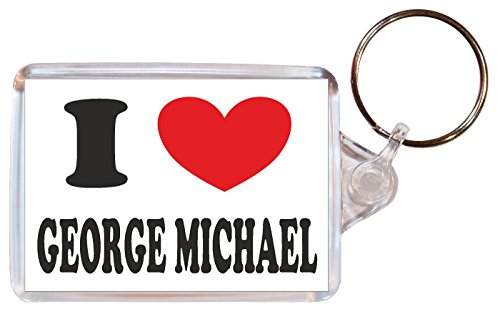 i-love-heart-george-michael-double-sided-large-keyring-novelty-gift-present