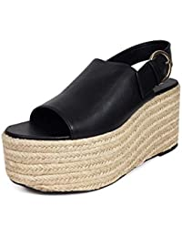 meilleures baskets c7407 002a6 Amazon.fr : compensées zara - Chaussures femme / Chaussures ...