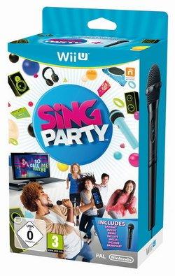 Preisvergleich Produktbild Sing Party + Microphon Wii U