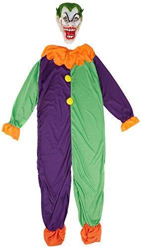 �Kostüm EVIL JOKER, Violett, Small (Joker Kostüm Amazon)