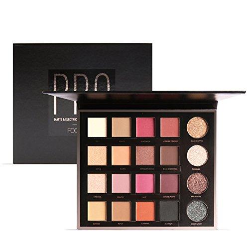 Palette di ombretti Angmile, ombretti primer matt e glitter, 20 colori, waterproof, makeup palette, cosmetici