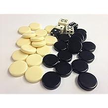 Sondergut - Sostituzione Chip e Dadi Backgammon