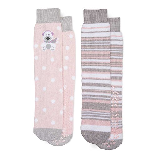 totes-ladies-original-slipper-socks-twin-pack-polar-bear-one-size