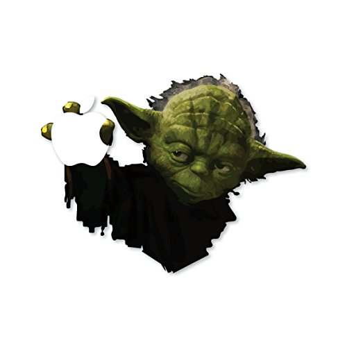 Yoda Star Wars robot Macbook sticker - winter is coming - house of Stark / black vinyl / laptop artwork / Laptop design / Apple decal Macbook Pro 13 Macbook Air by decorsfuk.co (Pro Vinyl 13 Book Mac)