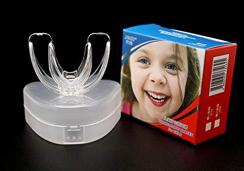 Aparatos Ortopédicos, Protector Bucal Superior Para Niños de 7 A 12 Años, Boquilla Para Niños OSFA, Aparatos Ortopédicos Para Niños Entrenador de Dientes Para Retenadores de Ortodoncia 2 Pack