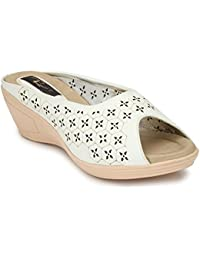 RIMEZS Slip On Party-Wear Comfortable Stylish Wedges for Women