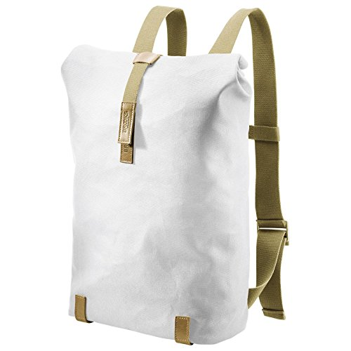 Brooks Pickwick Backpack Canvas 26l white/stone 2017 Rucksack (Hügel Leinen)