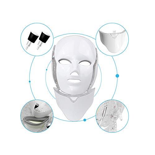 CNKSKXK- Light therapy LED Maske, Beauty Star LED Therapie 3 Farbbehandlung Beauty Hautpflege Maske Akne, Anti-Falten, Whitenin - Kollagen-aktivator
