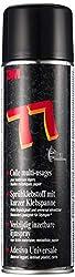 3M Scotch-Weld Sprühklebstoff 77 - Aerosol-Klebstoff mit kurzer Ablüftzeit und langer Klebespanne für dauerhaften Halt - 500ml - Beige