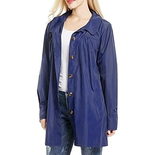 Snow Rainwear, JYC 2018 Women's Hooded Lightweight Waterproof Raincoat Jacket