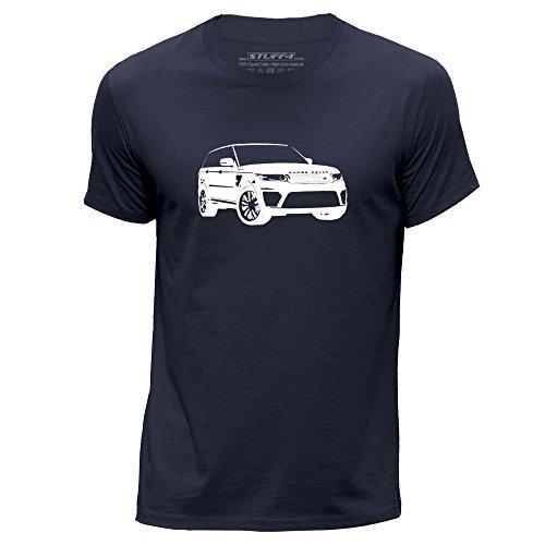 stuff4-hombres-xxx-grande-3xl-azul-marino-cuello-redondo-de-la-camiseta-plantilla-coche-arte-range-r