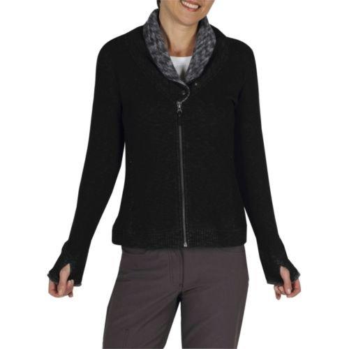 exofficio Damen roughian Pullover schwarz