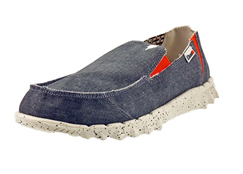 Dude Mocassins Farty Funk - 7 Coloris Steel/Orang